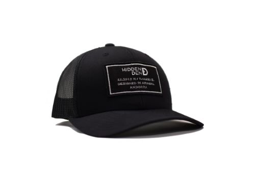 N°9 - Gorra blanca y negra eco-responsable