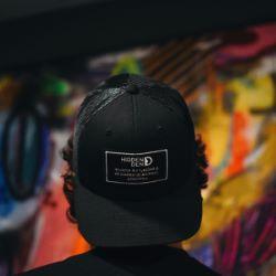N°9 - Eco-friendly black & white cap