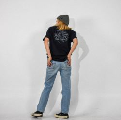 N°3 - Black & white t-shirt organic cotton