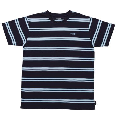 N°4 - Blue striped t-shirt organic cotton