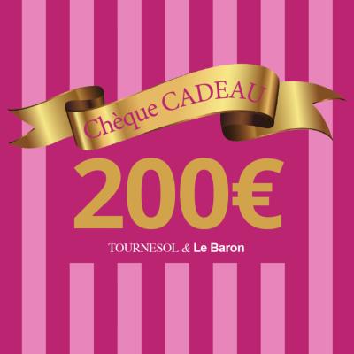 Chèque Cadeau Tournesol - 200€