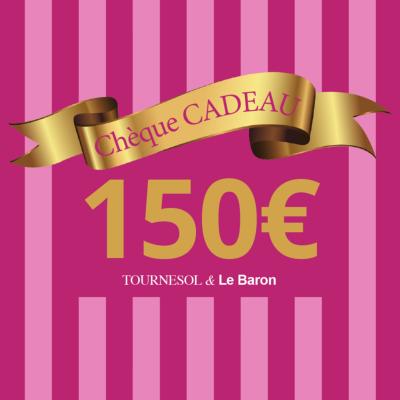 Chèque Cadeau Tournesol - 150€