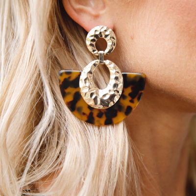 Boucles d'oreilles TAWNY