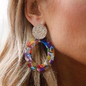 Boucles d'oreilles DIA