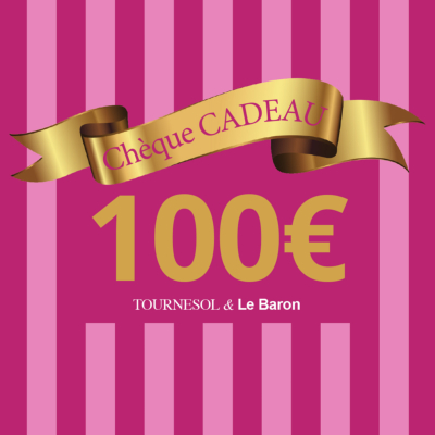 Chèque Cadeau Tournesol - 100€