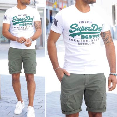T-shirt PREM Superdry