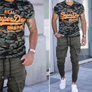 T-shirt WOODSTER Superdry
