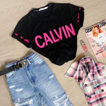 T-shirt PINKER Calvin Klein