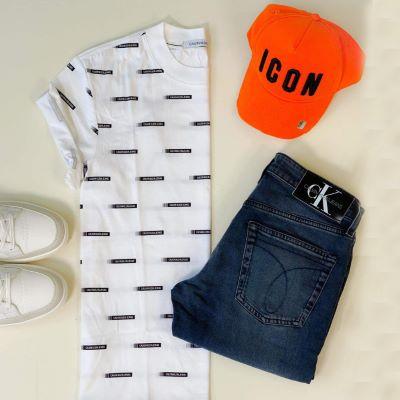 T-shirt BANDOLE Calvin Klein
