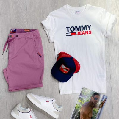 T-shirt NASCAR Tommy Hilfiger