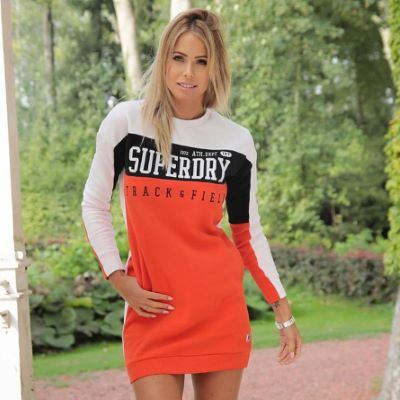 Robe pull PANELS Superdry