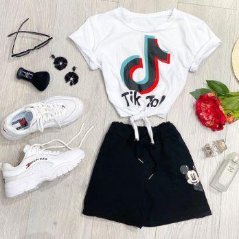 T-shirt CROPTOK