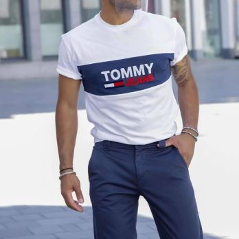 T-shirt BLOCKED Tommy Hilfiger
