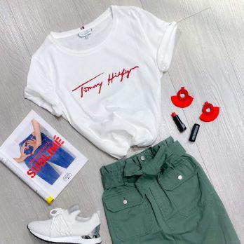 T-shirt ORGA Tommy Hilfiger