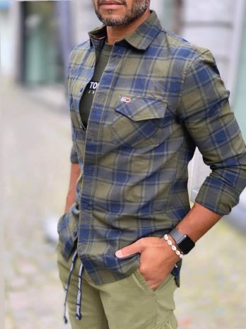 Tommy Jeans FLANNELPLAID