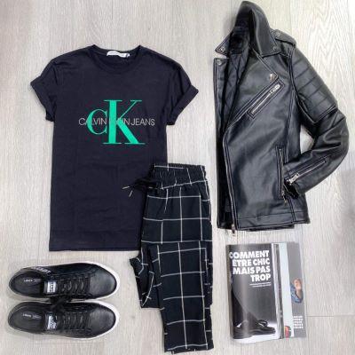 T-shirt JERSY Calvin Klein