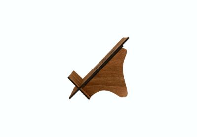 Lutrin bois motif Etoile