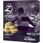 Pack Cymbales Zildjian Planet Z