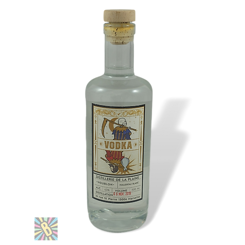 Distillerie de la Plaine Vodka Citra 50cl