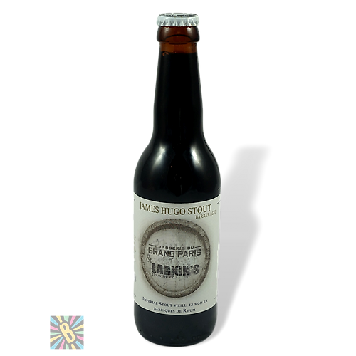 Grand Paris James Hugo Stout BA Rhum 33cl