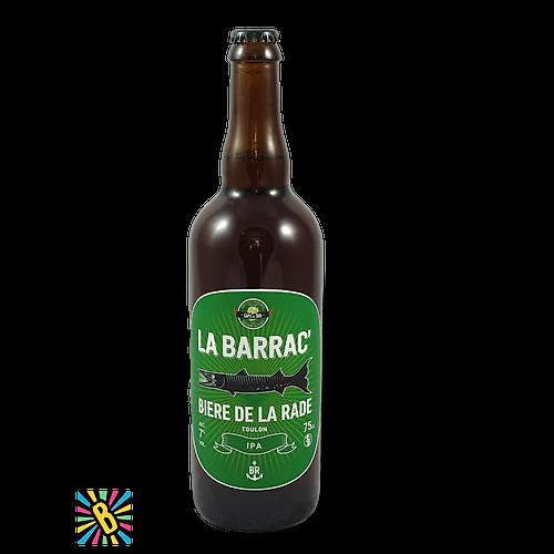 La Rade Barrac' IPA 75cl