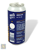 North Brewing c/Stillwater Kveik IPA 44cl