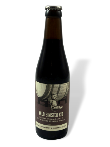 Trillium Wils Sinister Kid Double Blackberry & Cabernet Grapes 33cl