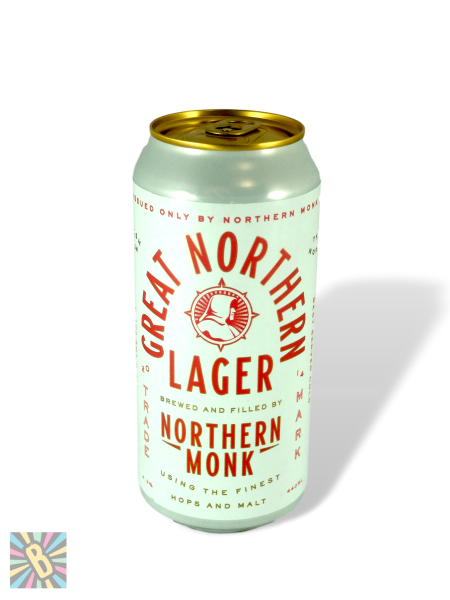 Northern Monk Great Northern Lager 44cl