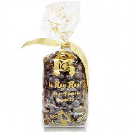 Sachet Grains de Café chocolat Noir 220g