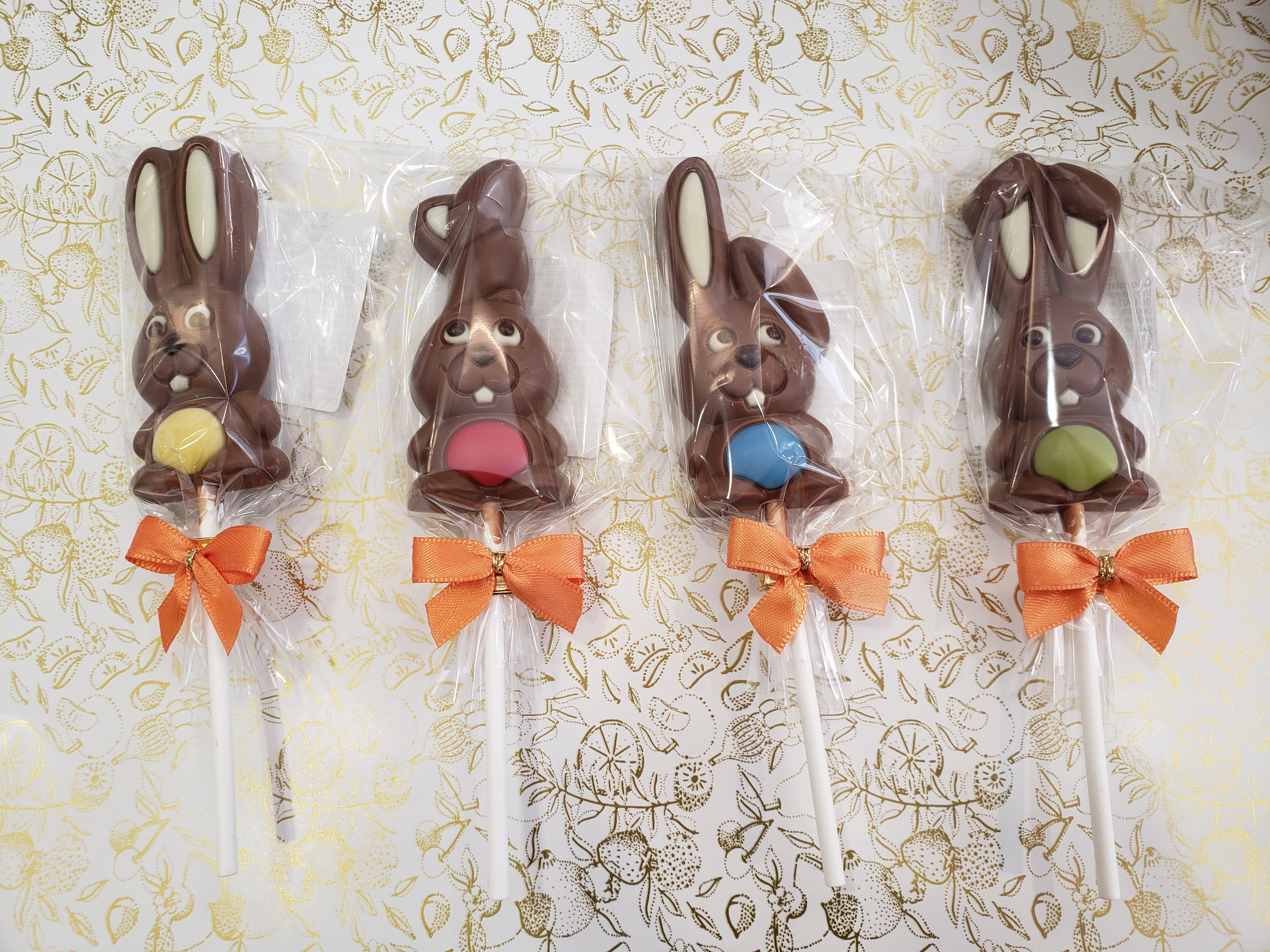 Sucette Lapin Chocolat Lait