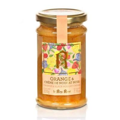 CONFITURE ORANGE/ CREME DE NOUGAT NOIR POT 220G