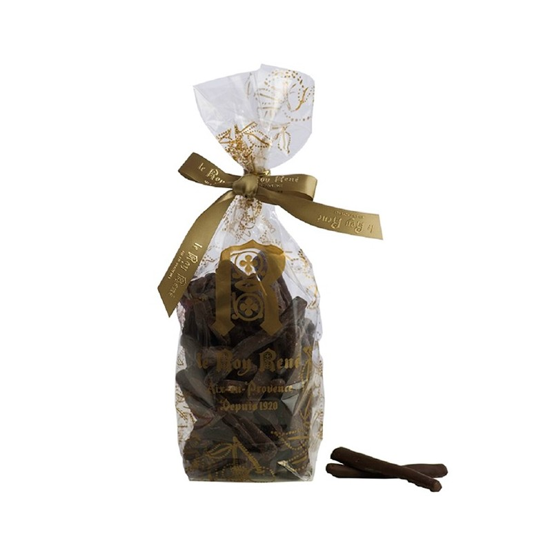 SACHET ORANGETTES CHOCOLAT NOIR 200G