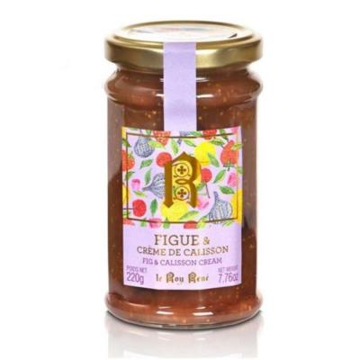 CONFITURE FIGUE/ CREME DE CALISSON POT 220G