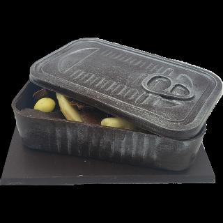 Boîte à friture garnie _ Chocolat Noir