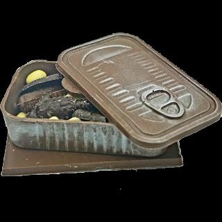 Boîte à friture garnie _ Chocolat Lait