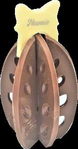 Oeuf Puzzle 3d Chocolat Lait