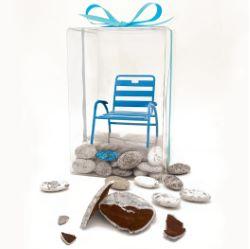 Coffret Galets & Chaise Bleue 250g