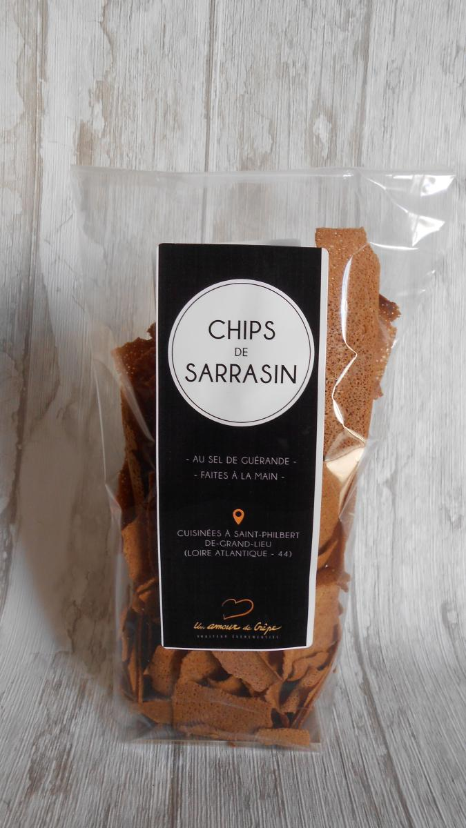 Chips de sarrasin 80 gr