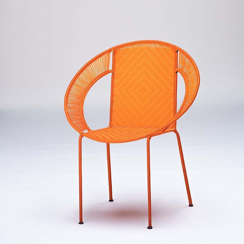 Fauteuil CALAO orange