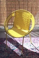 Fauteuil medium jaune