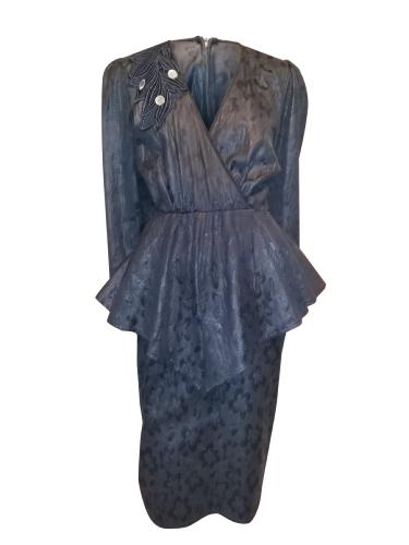 ROBE VINTAGE 80's - TAILLE 38