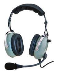 Casque bi-écouteur à haute isolation acoustique