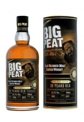 Big Peat 25 ans The Gold Edition 52.1%