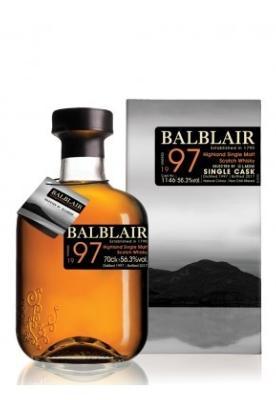 Balblair 1997 Bourbon Cask 56.8%