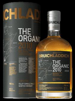Bruichladdich The Organic 2010 50%