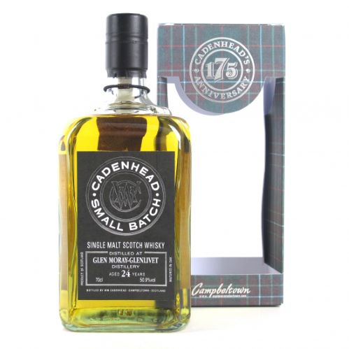 Cadenhead's Glen Moray 24 ans 1992 50.9%