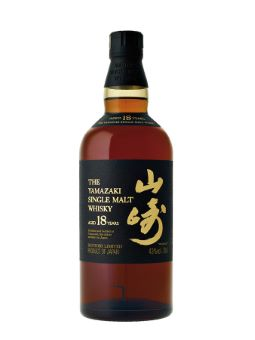 Whisky japonais Yamazaki 18 ans 43%