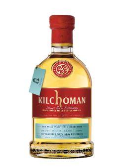 Kilchoman 10 ans 2010 Family Cask by Kathy Wills 54.2%