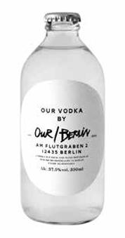 Our/Vodka Berlin 37%