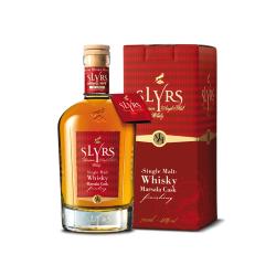 SLYRS Single Malt Whisky Finition fût de marsala 51%